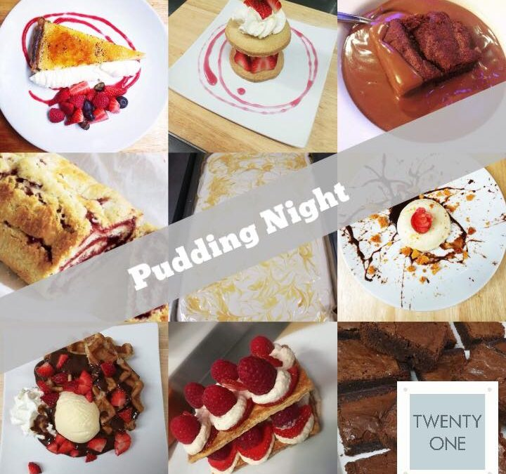 Pudding Night Friday 26th April