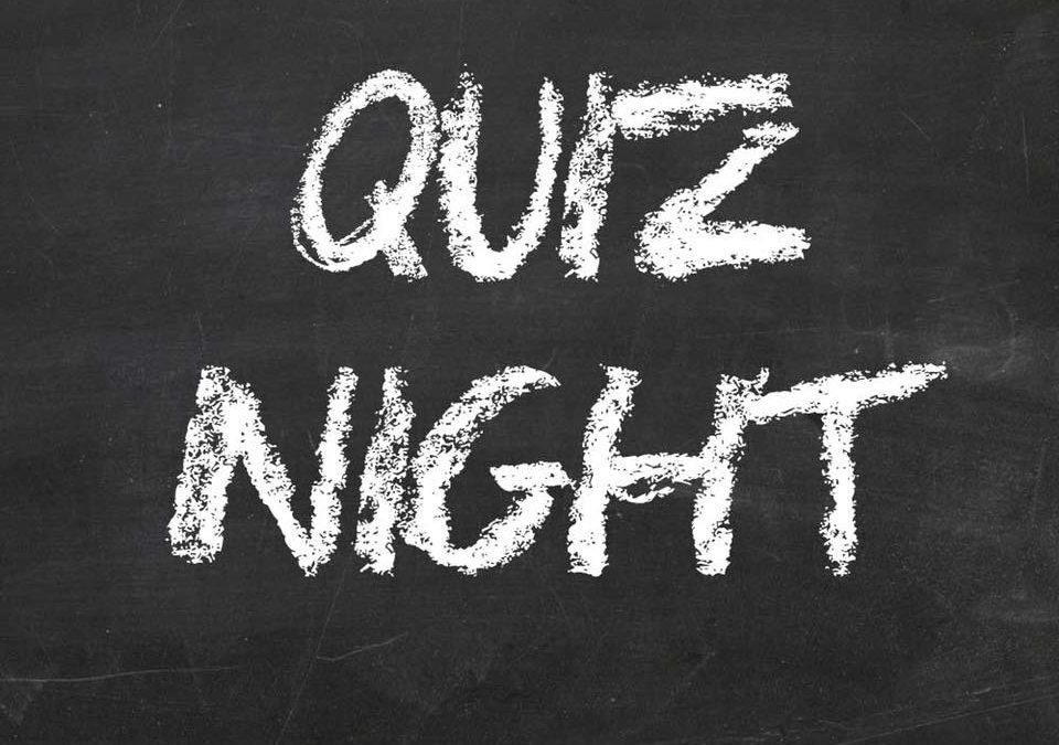Quiz Night Wednesday November 14th