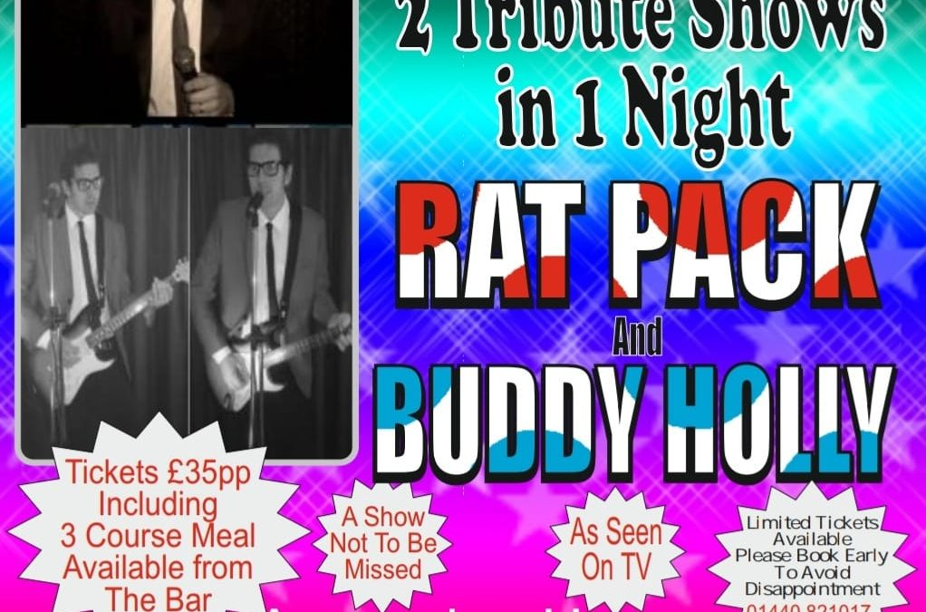 Buddy Holly & Rat Pack Tribute