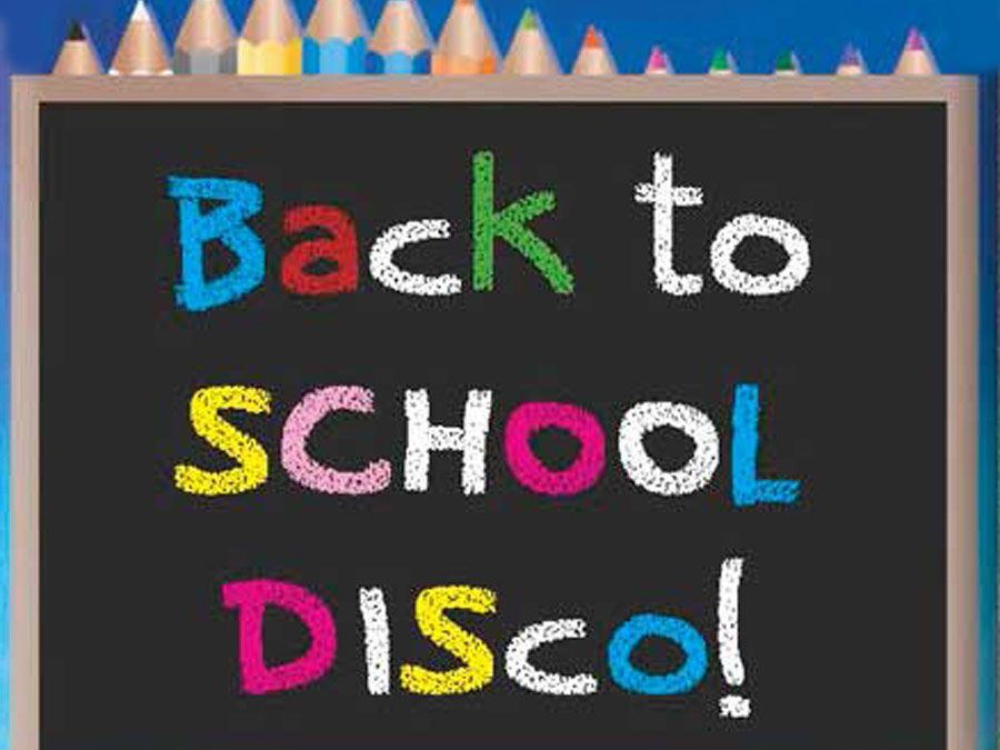 Back To School Disco