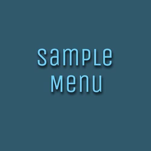 Sample SET menu Tier2